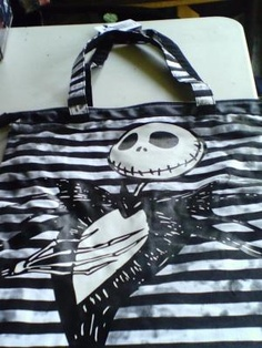 Loop NYC Disney Nightmare before Christmas Tote Bag NWT Free Shipping