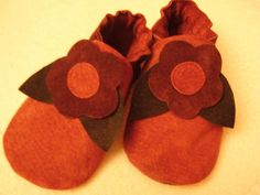Pattern for sewing Soft Leather Baby Shoes