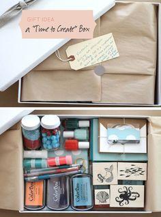 Craft box.  Cute gift. :)