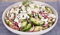 Feta & Cucumber Salad