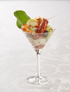 Frutti De Mare or Seafood Salad for the seafood lovers in your life, this salad is easy to make with just a few simple ingredients! Perfect for a summer meal or snack or for an fine evening with friends you can spice up the presentation by serving it in a martini glass.