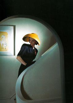 Photo: Horst P. Horst, 1943. Taken for Vogue.