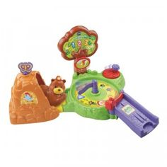 The Go! Go! Smart Animals Forest Adventure Playset includes a forest-themed play area and a SmartPoint Bear that interacts with the set's two SmartPoints.