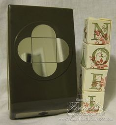 Stamp & Scrap with Frenchie: Petal Card Punch= Tower Box