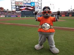 SF Giants Lou Seal