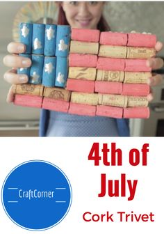 4th of July Craft: M