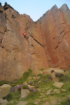 Ben from our Sheffield Store Climbing.    GO Outdoors.