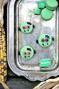zombie macaroons