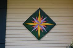 Mariner's Compass Barn Quilt