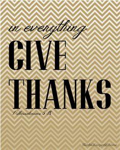 Printable Thanksgiving art.