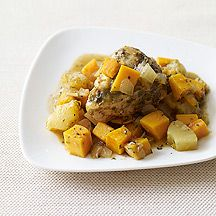 Image of  Slow Cooker Jerk Chicken with Sweet Potato & Pineapple