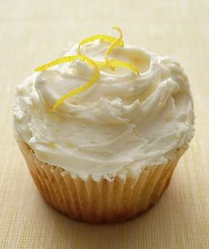 Get the recipe for Lemon Cupcakes.