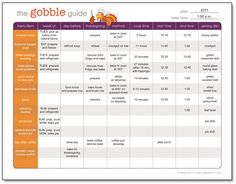 The Gobble Guide: FREE Printable (CUTE)THANKSGIVING TO_DO & MEAL PLANNER!