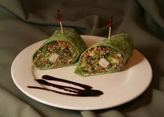 Avocado Pesto Wrap Recipe from The Cove kitchen.  You must try this delicious and healthy wrap.  It is a real crowd pleaser at The Cove!