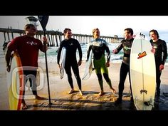 Five pro athletes including five-time NASCAR Sprint Cup Series Champion Jimmie Johnson, pro surfers Ian Walsh and Dave Kalama, pro snowboarder Eddie Wall and pro skier Chris Benchetler hit the beach, the racetrack, and the mountain all in one epic California day. The crew gathers in Surf City USA at the famed Huntington Beach Pier for a dawn pat...