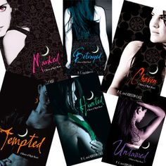 Addictive series...written by local author, PC Cast!