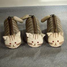 Cat zipper bags