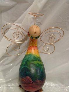 Angel Gourd. So pretty