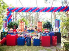 Festa dos vingadores - clique para mais fotos
