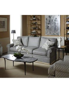 Baker Furniture : River House Coffee Table - 4053 : Bill Sofield :  room view