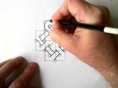 Celtic Design 12 (linked hearts)