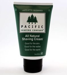 Pacific All Natural Shaving Cream (3 OZ)