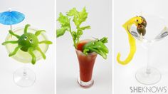 DIY Cocktail Critters