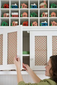 cupboard doors, decorating ideas, christma kitchen, cupboards, christma idea, christma holiday, delici idea, decor idea, kitchen cabinets