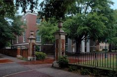 The University of South Carolina was founded in 1801, and offers over 350 different courses of study. The Horseshoe is the original part of this University's historical campus, and is located just one block away from the State Capitol.