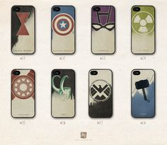 iPhone 5 hard case the Avengers
