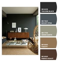 Perfect paint wallpaper on pinterest benjamin moore Masculine paint colors
