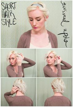 The Short of It: 5 Updos for Cropped Hair | Latest-Hairstyles.com