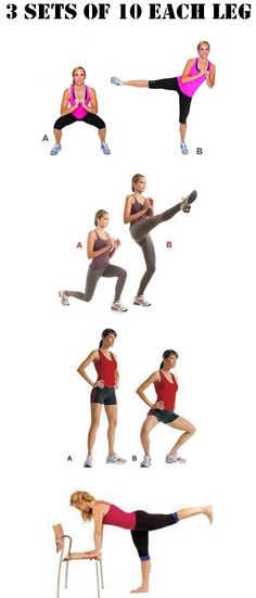 Leg Exercises ---> You want SEX LEGS? Try the tabata workout. FULL Video at http://www.indetails.com/3704/10-minute-tabata-legs-and-chest-workout/