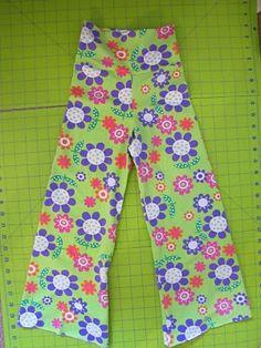 knit pants tutorial