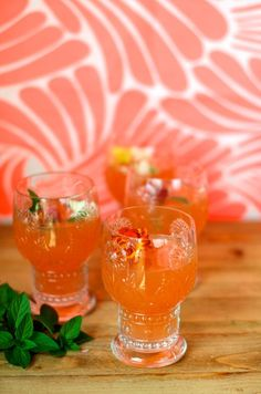 Grapefruit Champagne Cocktail