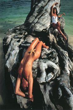 inspiration, photograph john, calendar pirelli, pirelli calendar, beach, 1993 john, john claridg