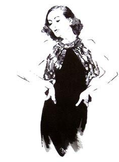Joan Crawford  www.hopelugo.etsy.com