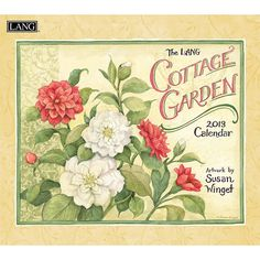 """Susan Winget Cottage Garden Wall Calendar: """"Cottage Garden"""" by Susan Winget is """"Your Favorite Seeds"""" visually displayed through plump apples, luscious tulips and more.  $15.99  http://calendars.com/Assorted-Fine-Art/Susan-Winget-Cottage-Garden-2013-Wall-Calendar/prod201300001756/?categoryId=cat00016=cat00016#"""
