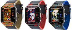 Split Screen Fashion Watches