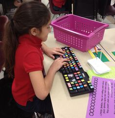 """3rd Grade's a Hoot: """"fancy"""" up an old keyboard with cute stickers - use for """"typing"""" words during Word Work"""