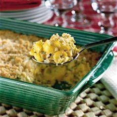 Two-Cheese Squash Casserole Recipe | MyRecipes.com Mobile