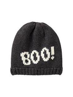 Intarsia boo hat | Gap