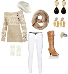 """Winter casual"" by peytonlacy on Polyvore"