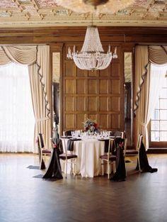 Ballroom Reception Table Decor Ideas