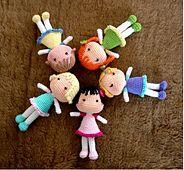 BB Dolls - free crochet pattern by Vanja Grundmann little girls, crochet dolls, doll patterns, baby dolls, bb doll, crochet patterns, yarn, amigurumi patterns, bbdoll