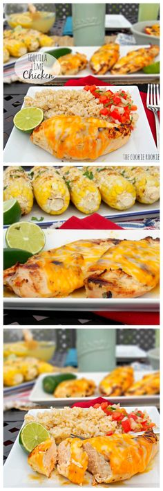 Tequila Lime Chicken (copycat Applebee's Fiesta Lime Chicken)...our favorite #grill recipe! AMAZING