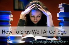 Tips on How To Stay WELL At College | My Life As Hayden