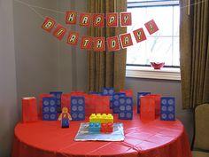 William's Lego Party