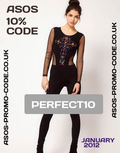 Promo code PERFECT10 for 10% discount. http://asos-promo-code.co.uk/asos-10-off-with-entering-code-perfect10/