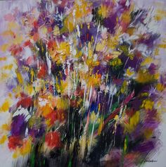 Mario Zampedroni, Flores abstractas, 2010. http://www.zampedroni.com/2010/floral-abstraction-acrylic-canvas-2010/#